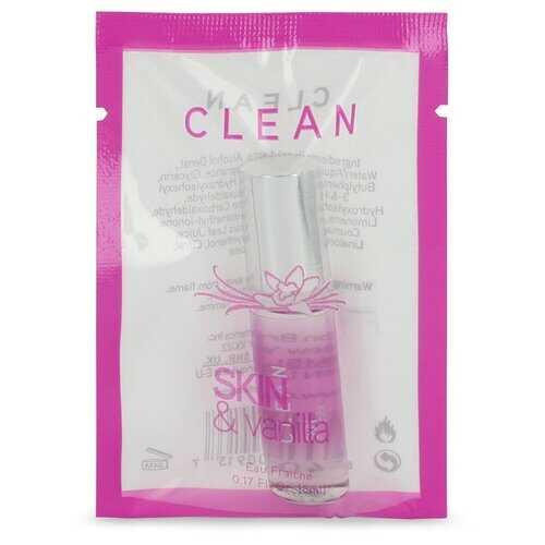 Clean Skin and Vanilla by Clean Mini Eau Frachie .17 oz (Women)