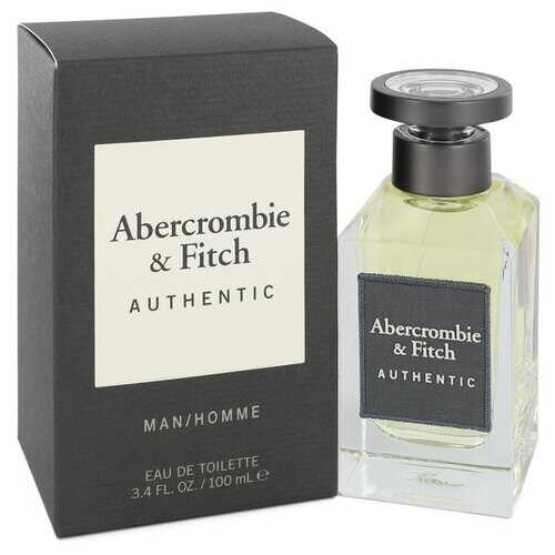 Abercrombie & Fitch Authentic by Abercrombie & Fitch Eau De Toilette Spray 3.4 oz (Men)