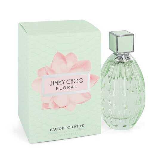 Jimmy Choo Floral by Jimmy Choo Eau De Toilette Spray 3 oz (Women)