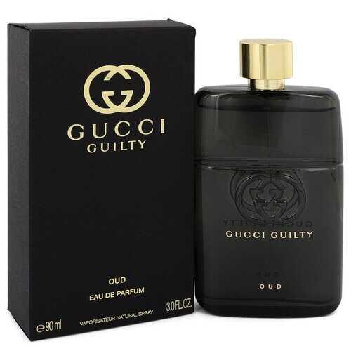 Gucci Guilty Oud by Gucci Eau De Parfum Spray (Unisex) 3 oz (Men)