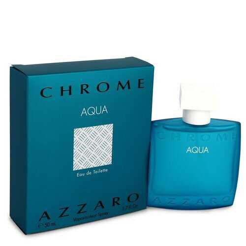 Chrome Aqua by Azzaro Eau De Toilette Spray 1.7 oz (Men)