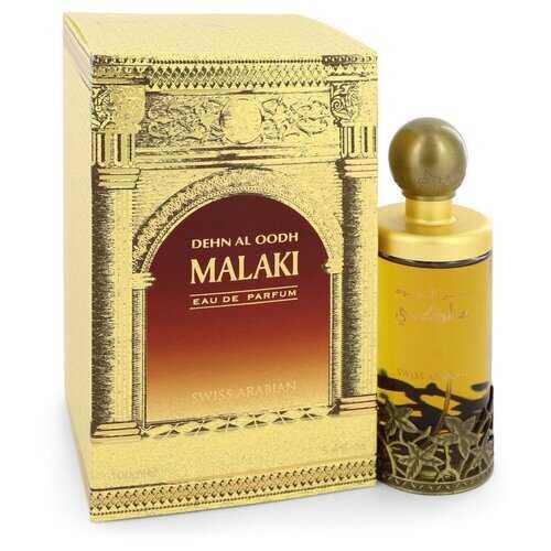 Dehn El Oud Malaki by Swiss Arabian Eau De Parfum Spray 3.4 oz (Men)