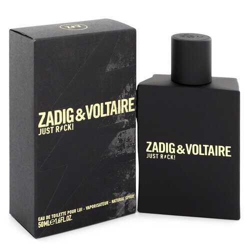 Just Rock by Zadig & Voltaire Eau De Toilette Spray 1.6 oz (Men)
