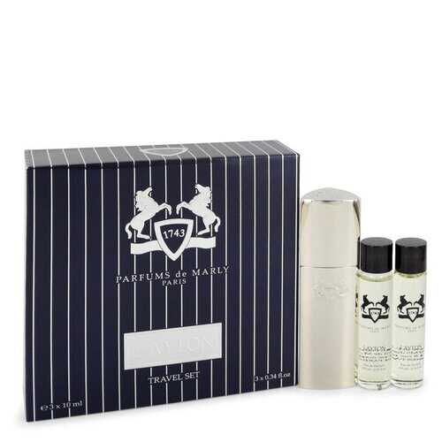 Layton Royal Essence by Parfums De Marly Three Eau De Parfum Sprays Travel Set 3 x .34 oz (Men)