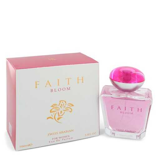 Swiss Arabian Faith Bloom by Swiss Arabian Eau De Parfum Spray 3.4 oz (Women)
