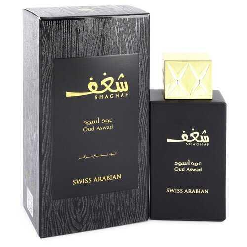 Shaghaf Oud Aswad by Swiss Arabian Eau De Parfum Spray 2.5 oz (Women)