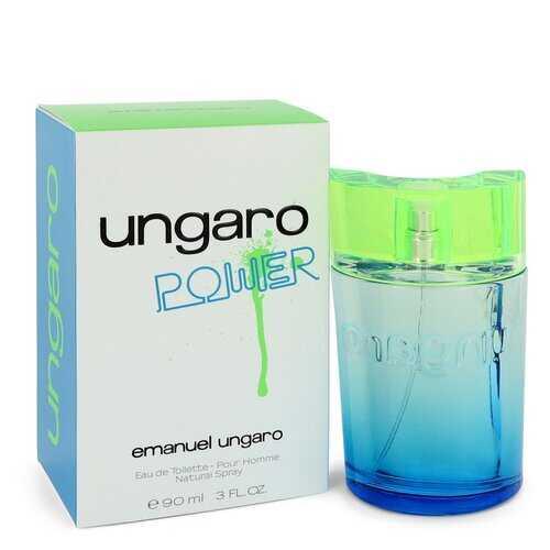 Ungaro Power by Ungaro Eau De Toilette Spray 3 oz (Men)