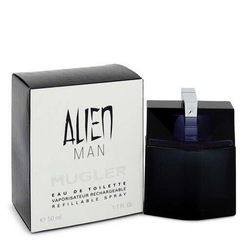 Alien Man by Thierry Mugler Eau De Toilette Refillable Spray 1.7 oz (Men)