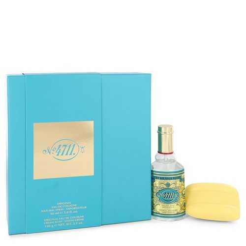 4711 by Muelhens Gift Set -- 3 oz Eau De Cologne Spray + 3.5 oz Soap (Men)