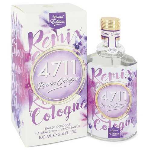 4711 Remix Lavender by 4711 Eau De Cologne Spray (Unisex) 3.4 oz (Men)