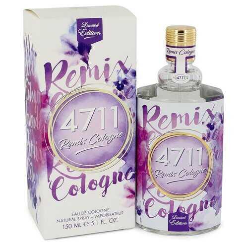 4711 Remix Lavender by 4711 Eau De Cologne Spray (Unisex) 5.1 oz (Men)