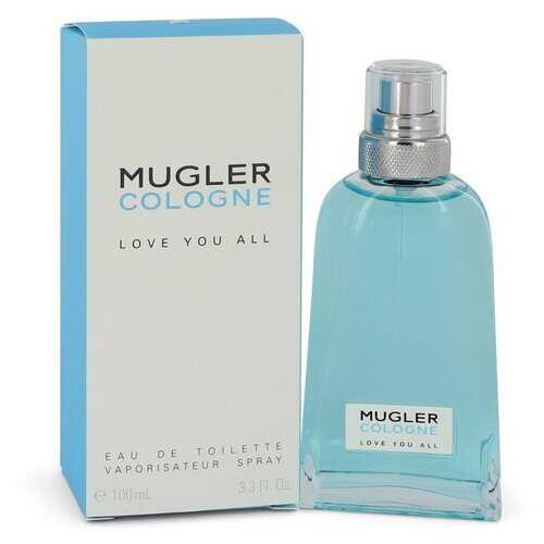 Mugler Love You All by Thierry Mugler Eau De Toilette Spray (Unisex) 3.3 oz (Women)