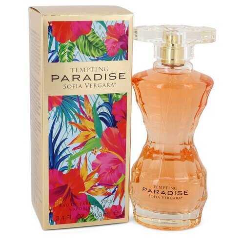 Sofia Vergara Tempting Paradise by Sofia Vergara Eau De Parfum Spray 3.4 oz (Women)