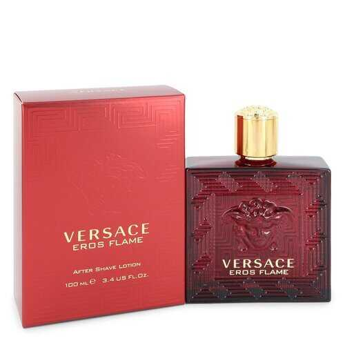 Versace Eros Flame by Versace After Shave Lotion 3.4 oz (Men)