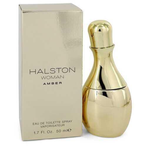 Halston Woman Amber by Halston Eau De Toilette Spray 1.7 oz (Women)