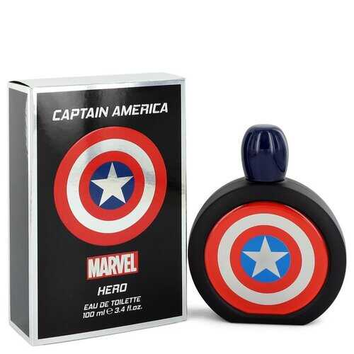 Captain America Hero by Marvel Eau De Toilette Spray 3.4 oz (Men)