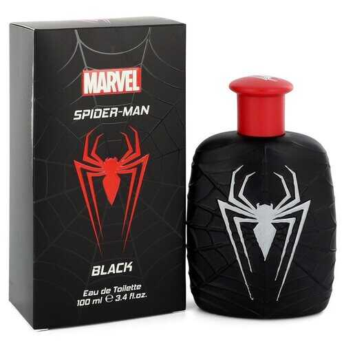 Spiderman Black by Marvel Eau De Toilette Spray 3.4 oz (Men)