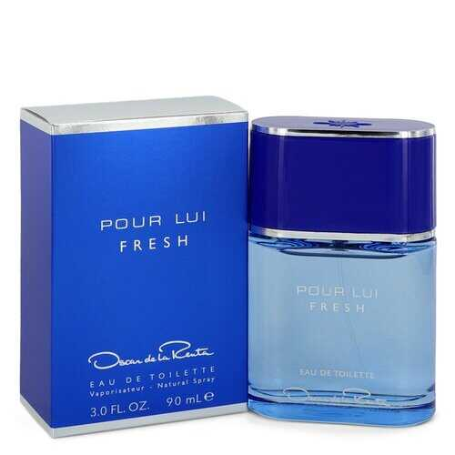 Oscar Pour Lui Fresh by Oscar De La Renta Eau De Toilette Spray 3 oz (Men)