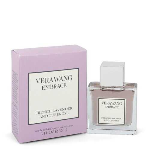 Vera Wang Embrace French Lavender and Tuberose by Vera Wang Eau De Toilette Spray 1 oz (Women)