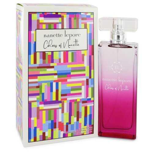 Colors of Nanette by Nanette Lepore Eau De Parfum Spray 3.4 oz (Women)
