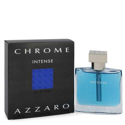Chrome Intense by Azzaro Eau De Toilette Spray 1.7 oz (Men)