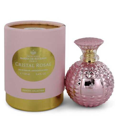 Marina De Bourbon Cristal Rosae by Marina De Bourbon Eau De Parfum Spray 3.4 oz (Women)