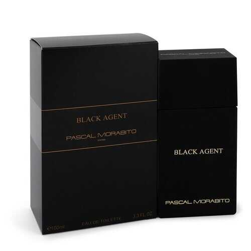 Black Agent by Pascal Morabito Eau De Toilette Spray 3.3 oz (Men)