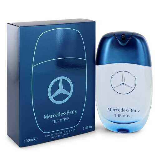 Mercedes Benz The Move by Mercedes Benz Eau De Toilette Spray 3.4 oz (Men)