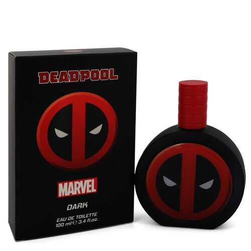 Deadpool Dark by Marvel Eau De Toilette Spray 3.4 oz (Men)