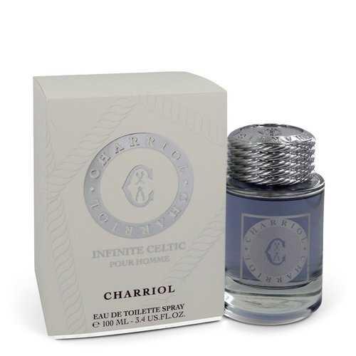 Charriol Infinite Celtic by Charriol Eau De Toilette Spray 3.4 oz (Men)