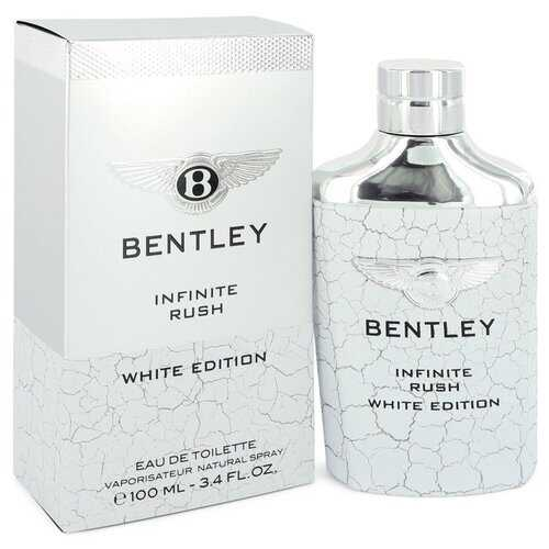 Bentley Infinite Rush by Bentley Eau De Toilette Spray (White Edition) 3.4 oz (Men)