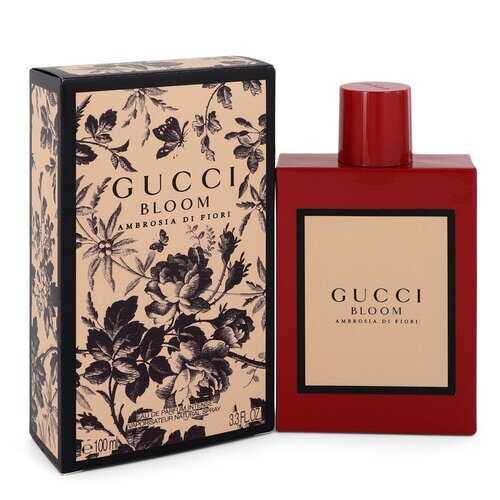 Gucci Bloom Ambrosia Di Fiori by Gucci Eau De Parfum Intense Spray 3.3 oz (Women)