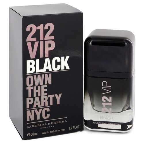 212 VIP Black by Carolina Herrera Eau De Parfum Spray 1.7 oz (Men)