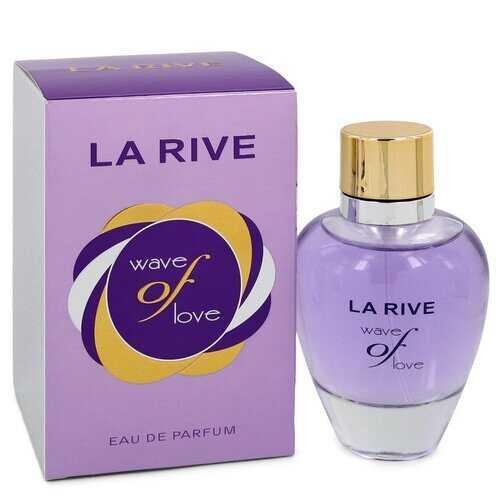 La Rive Wave of Love by La Rive Eau De Parfum Spray 3 oz (Women)