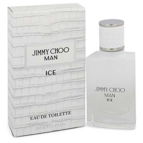 Jimmy Choo Ice by Jimmy Choo Eau De Toilette Spray 1 oz (Men)