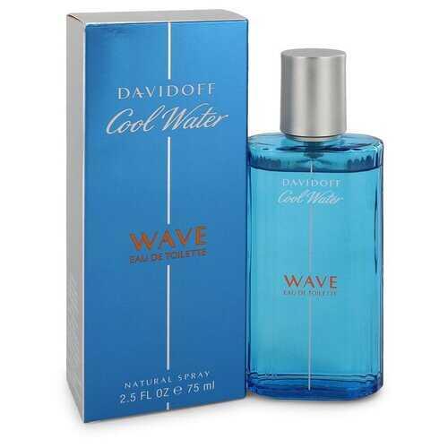 Cool Water Wave by Davidoff Eau De Toilette Spray 2.5 oz (Men)