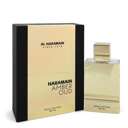 Al Haramain Amber Oud Gold Edition by Al Haramain Eau De Parfum Spray (Unisex) 4 oz (Women)