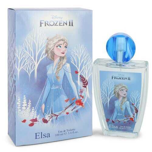 Disney Frozen II Elsa by Disney Eau De Toilette Spray 3.4 oz (Women)