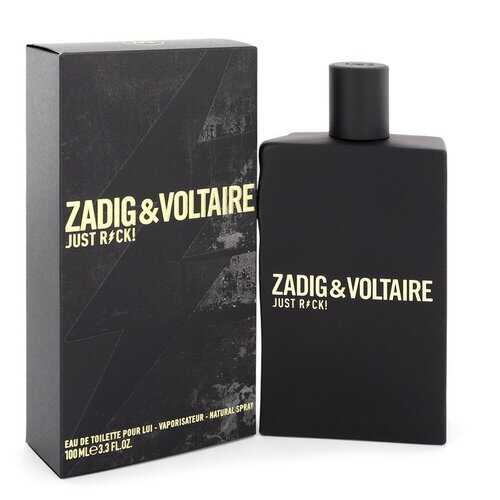 Just Rock by Zadig & Voltaire Eau De Toilette Spray 3.3 oz (Men)