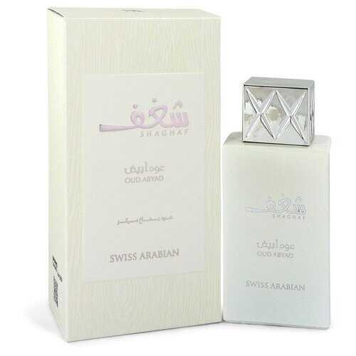 Shaghaf Oud Abyad by Swiss Arabian Eau De Parfum Spray (Unisex) 2.5 oz (Men)