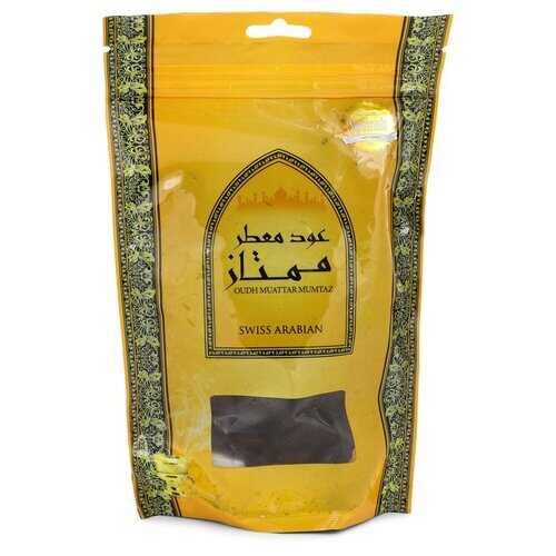 Swiss Arabian Oudh Muattar Mumtaz by Swiss Arabian Bakhoor Incense (Unisex) 250 grams (Men)