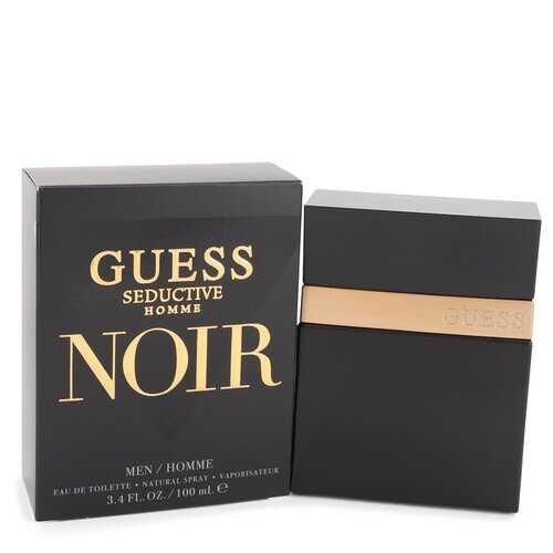 Guess Seductive Homme Noir by Guess Eau De Toilette Spray 3.4 oz (Men)