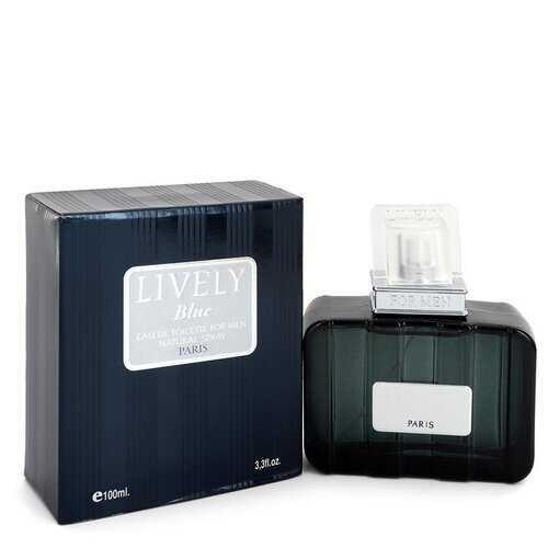 Lively Blue by Parfums Lively Eau De Toilette Spray 3.3 oz (Men)