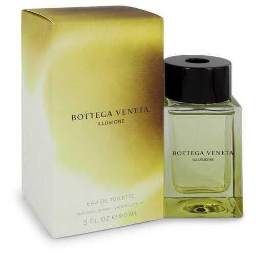 Bottega Veneta Illusione by Bottega Veneta Eau De Toilette Spray 3 oz (Men)