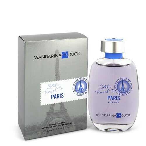 Mandarina Duck Let's Travel to Paris by Mandarina Duck Eau De Toilette Spray 3.4 oz (Men)