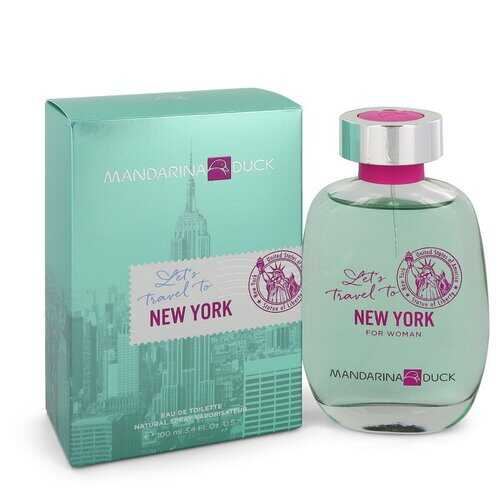 Mandarina Duck Let's Travel to New York by Mandarina Duck Eau De Toilette Spray 3.4 oz (Women)
