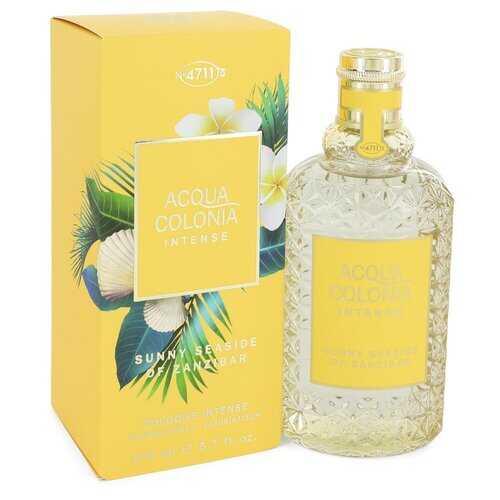 4711 Acqua Colonia Sunny Seaside of Zanzibar by Maurer & Wirtz Eau De Cologne Intense Spray (Unisex) 5.7 oz (Women)