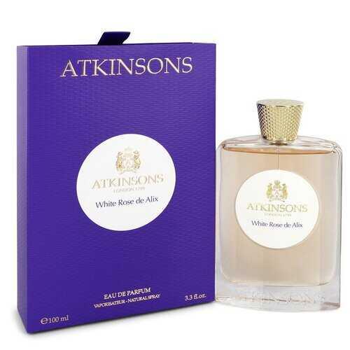 White Rose De Alix by Atkinsons Eau De Parfum Spray 3.3 oz (Women)