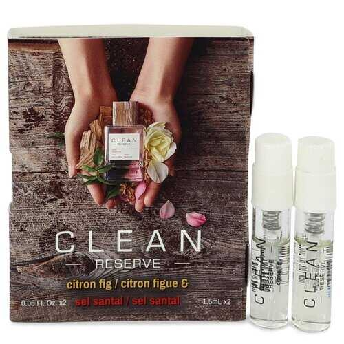 Clean Reserve Citron Fig by Clean Vial Set Includes Citron Fig and Sel Santal .05 oz (Women)