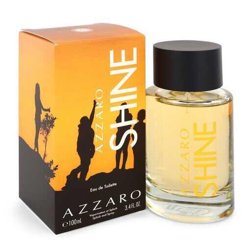 Azzaro Shine by Azzaro Eau De Toilette Spray 3.4 oz (Men)